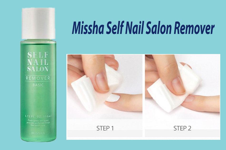 Nước tẩy sơn móng tay Missha Self Nail Salon Remover