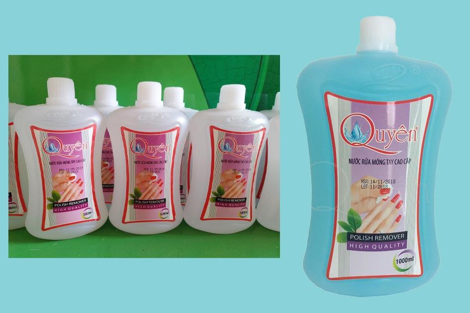 Nước rửa móng tay Aceton Quyên