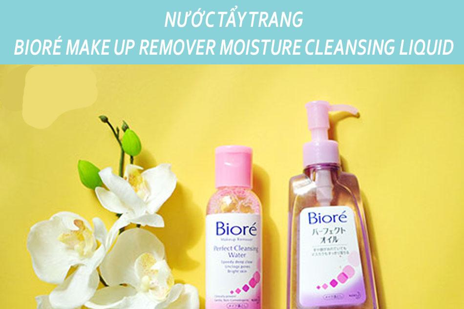 Nước tẩy trang Biore Make Up Remover Moisture Cleansing Liquid