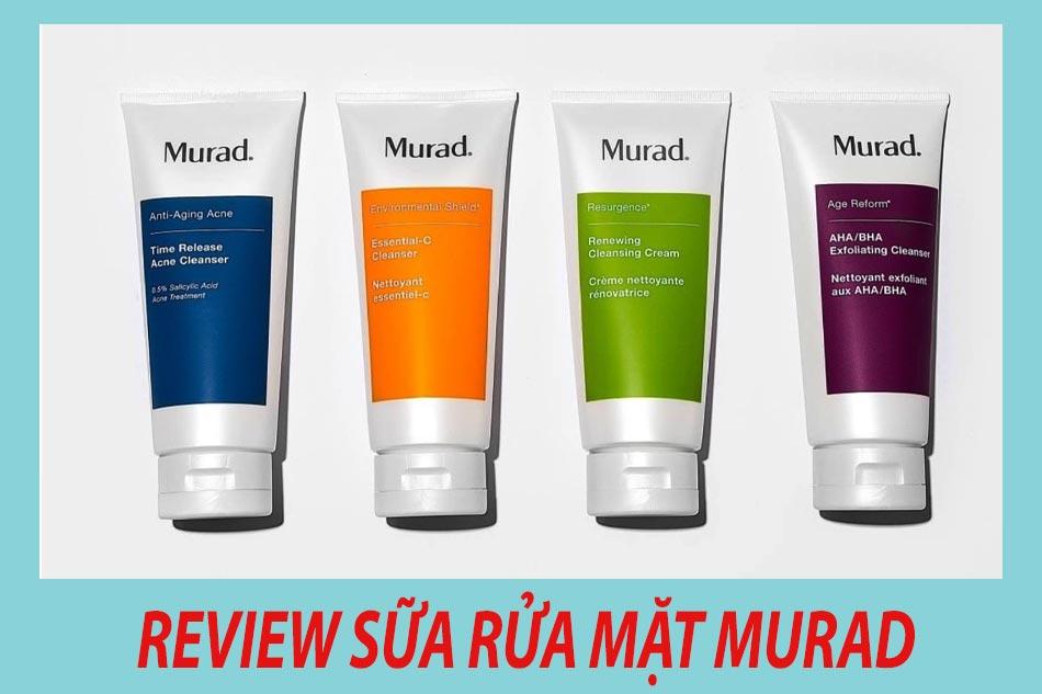Review sữa rửa mặt Murad từ người dùng