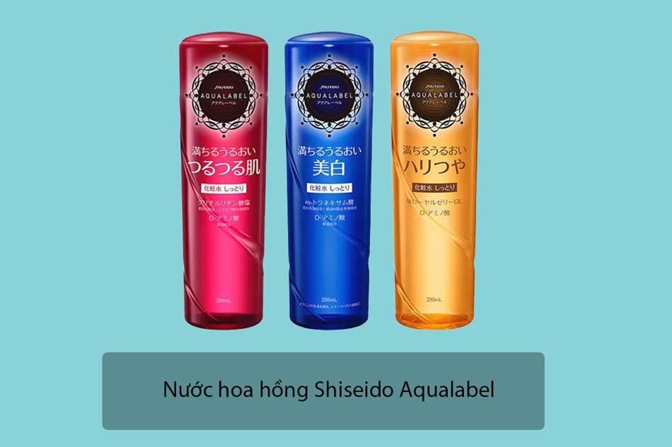 Nước hoa hồng Shiseido Aqualabel Lotion