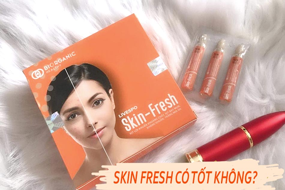 Xịt bào tử lợi khuẩn Skin Fresh có tốt không?