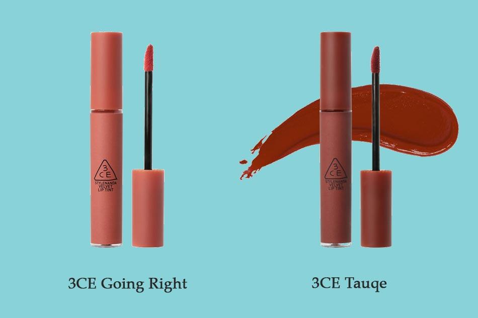 So sánh 3CE Going Right và 3CE Tauqe