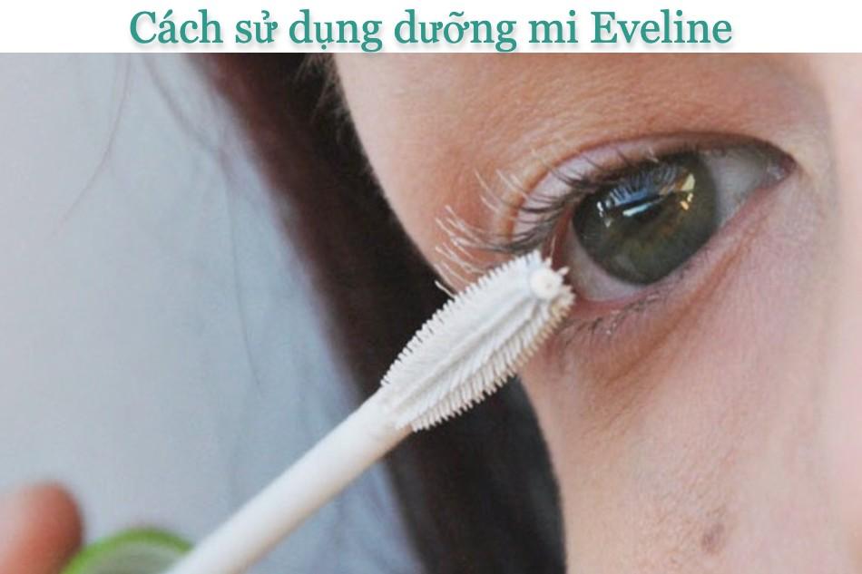 Cách sử dụng dưỡng mi Eveline