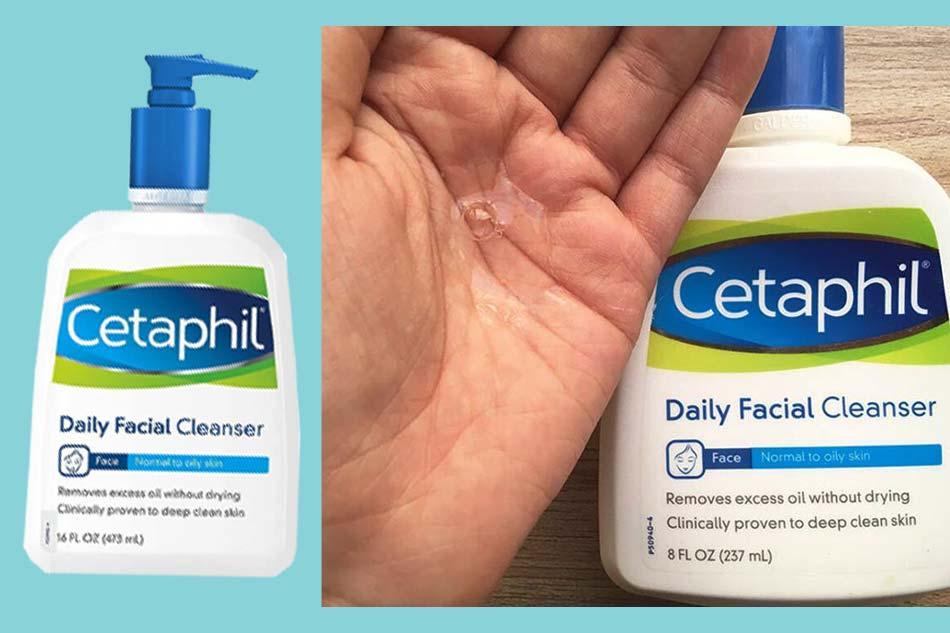Sữa rửa mặt cho da hỗn hợp nhạy cảm Cetaphil Daily Facial Cleanser