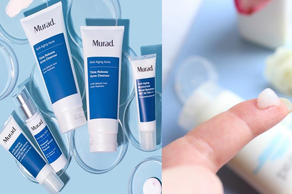Sữa rửa mặt Murad Time Release Acne Cleanser