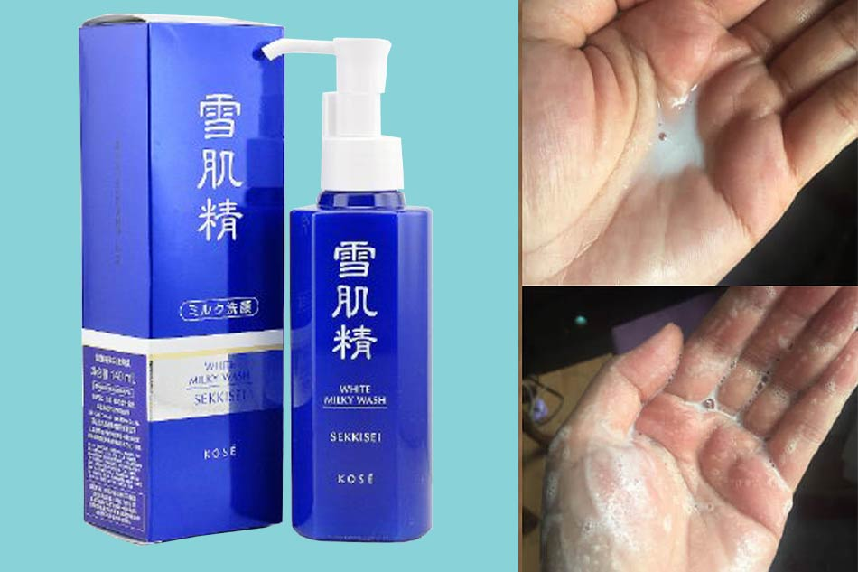 Sữa rửa mặt Kose Sekkisei White Liquid Wash