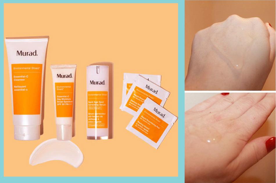 Sữa rửa mặt Murad Essential-C Cleanser màu cam