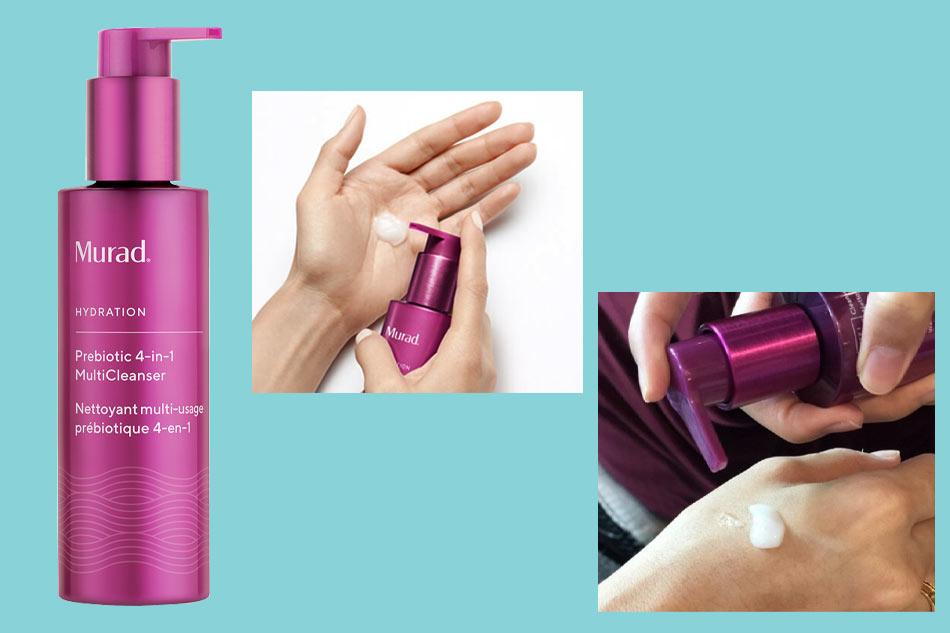 Sữa rửa mặt Murad Prebiotic 4-In-1 Multi Cleanser