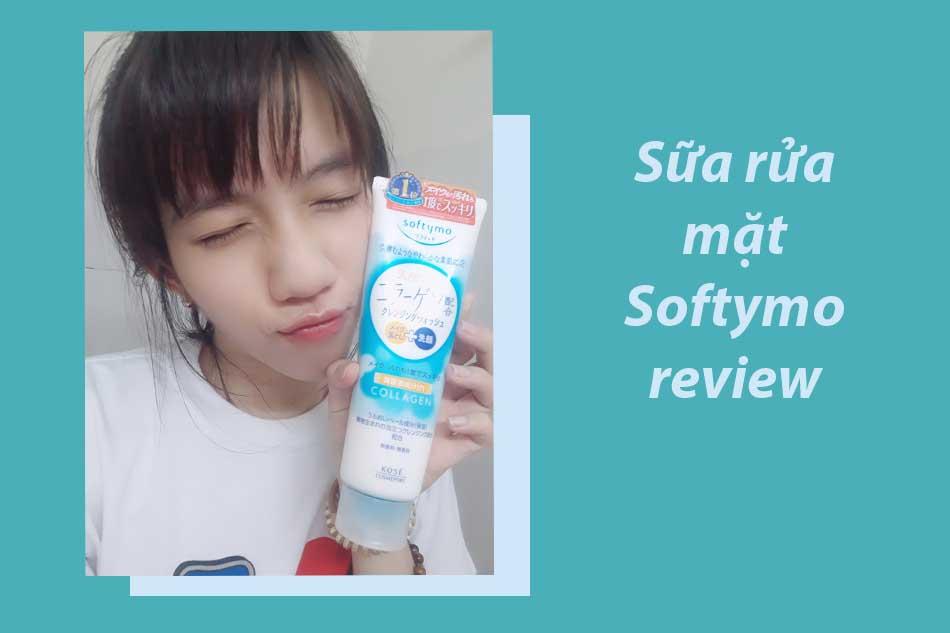 Sữa rửa mặt Softymo review