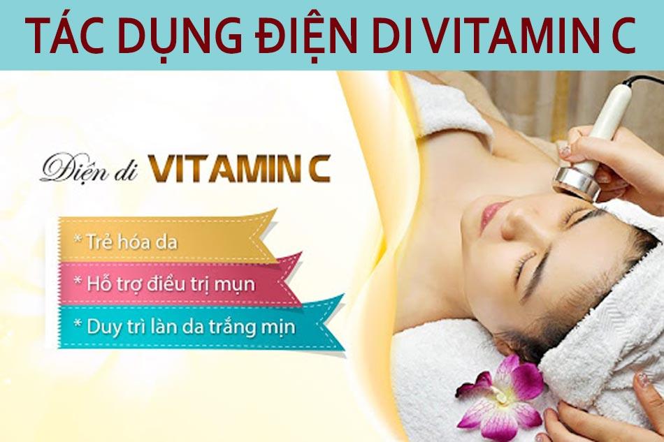 Tác dụng của điện di Vitamin C