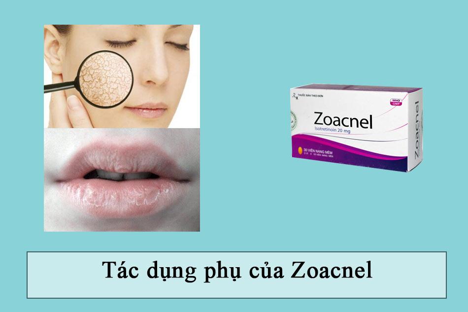 Tác dụng phụ của Zoacnel