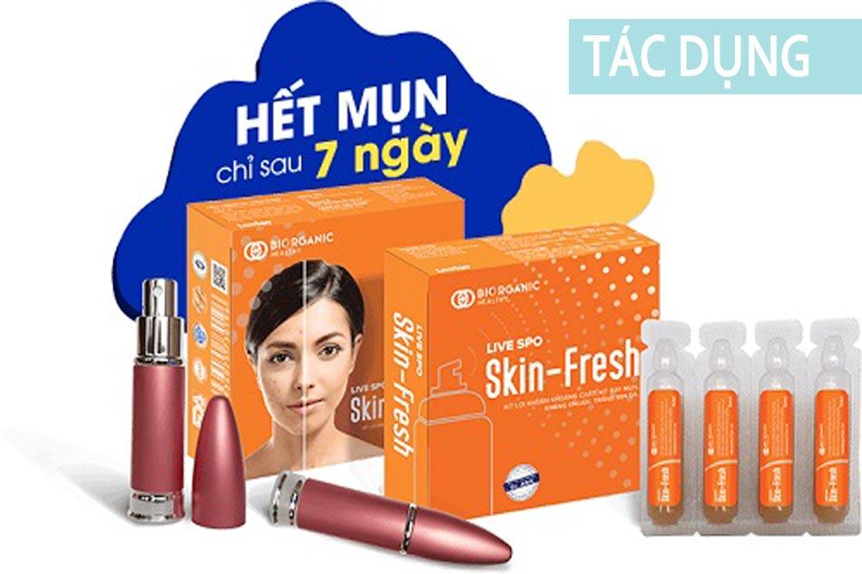 Tác dụng của Skin Fresh