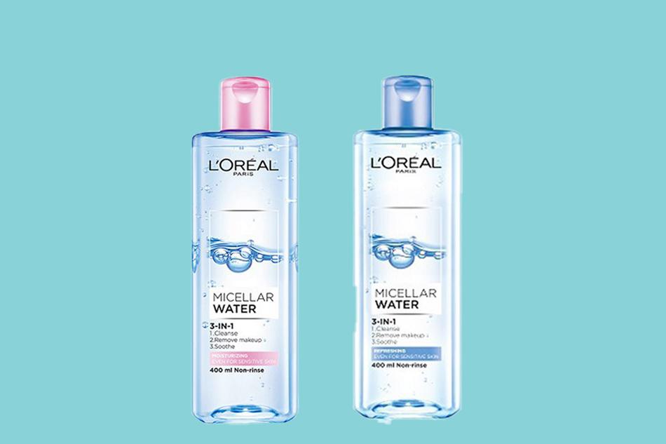 Nước tẩy trang không cồn L'Oreal Micellar Water 3-in-1 Refreshing
