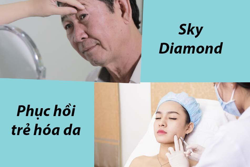Phục hồi trẻ hóa da Sky Diamond