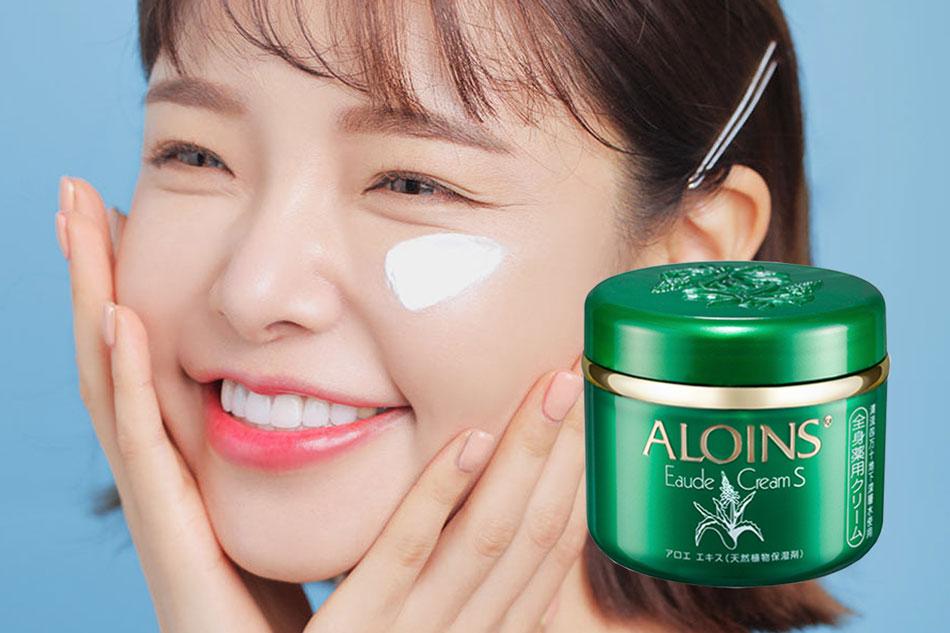 Cách dùng kem dưỡng da Aloins