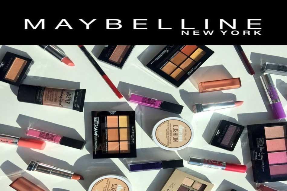 Thương hiệu mỹ phẩm Maybeline Newyork