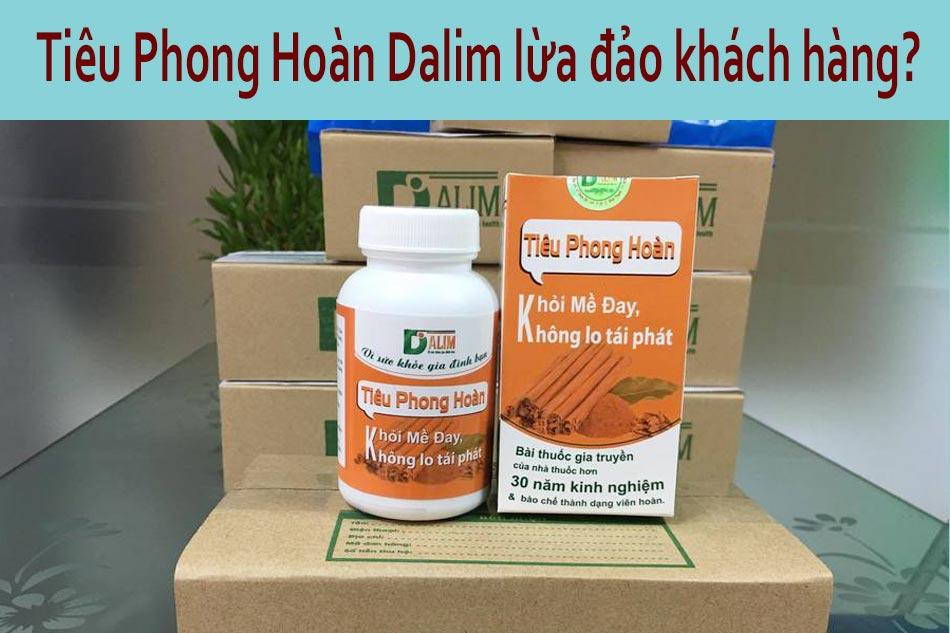 Tiêu Phong Hoàn Dalim lừa đảo khách hàng?