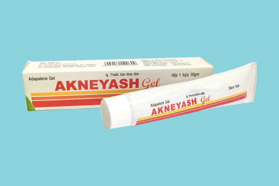 Chống chỉ định của Akneyash Gel