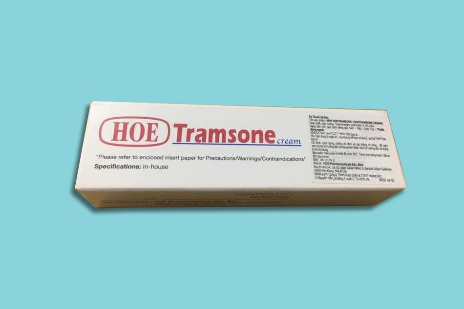 Chống chỉ định của Tramsone Cream