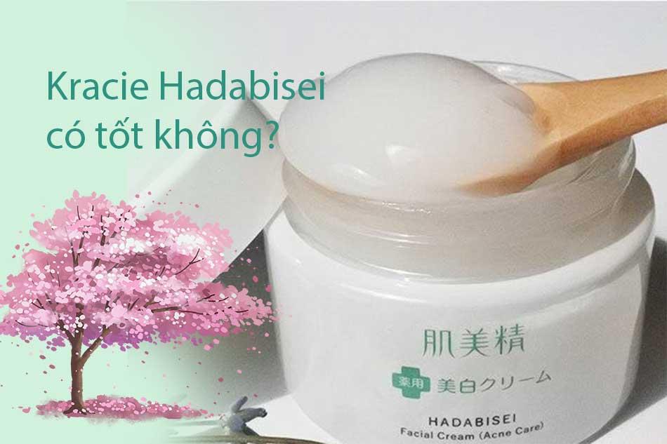 Kem dưỡng cho da mụn Kracie Hadabisei có tốt không?