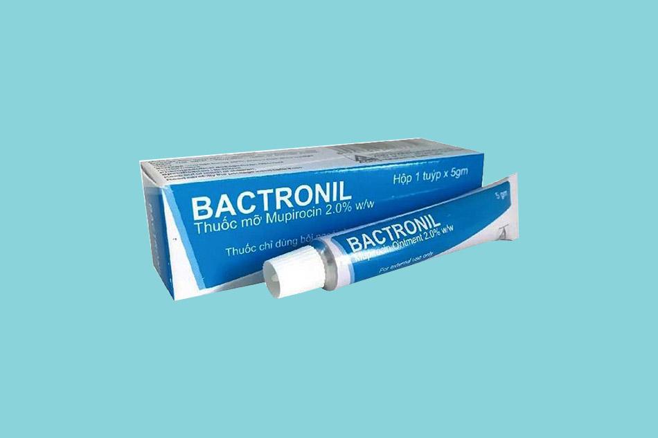 Lưu ý khi sử dụng thuốc bôi Bactronil