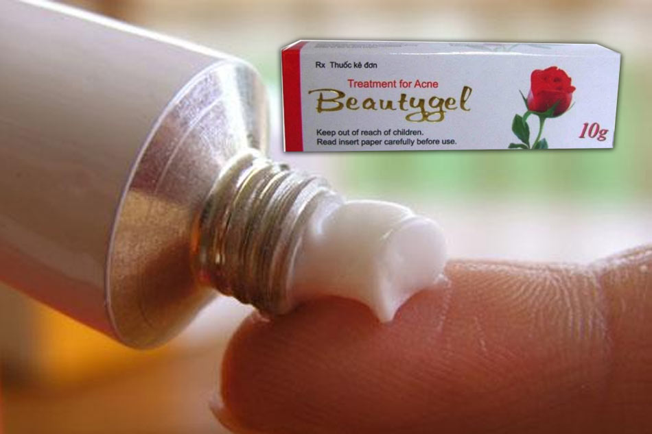 Lưu ý khi sử dụng thuốc trị mụn Beauty Gel