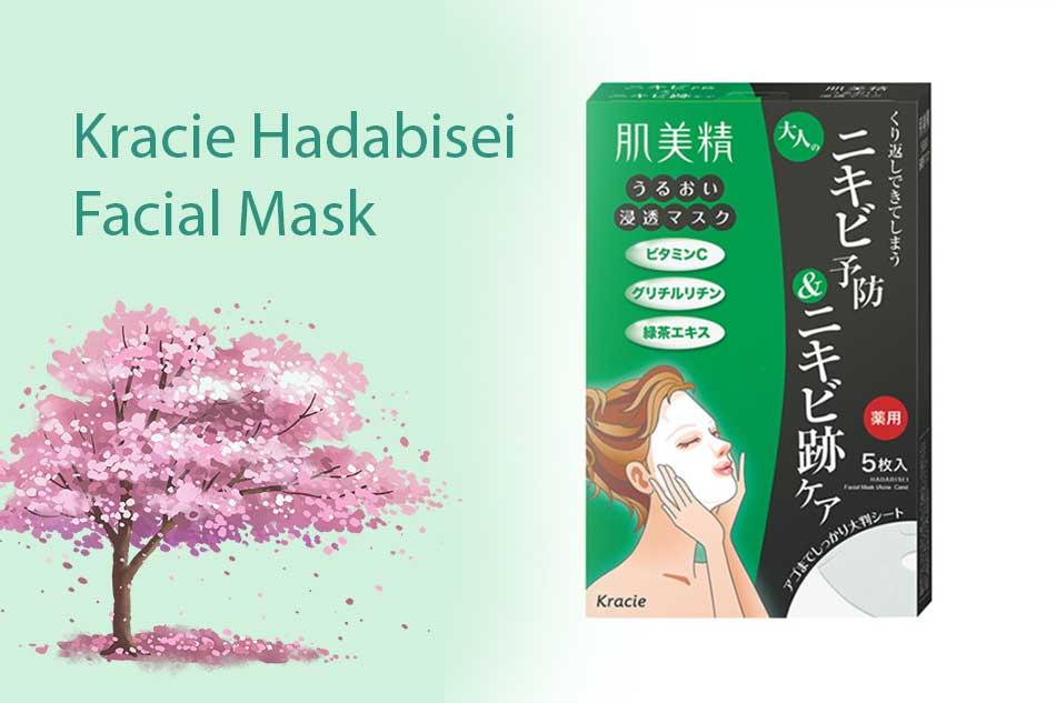 Mặt nạ chăm sóc da mụn Kracie Hadabisei Facial Mask