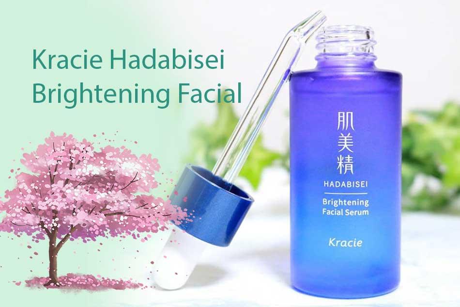 Serum trắng da Kracie Hadabisei Brightening Facial