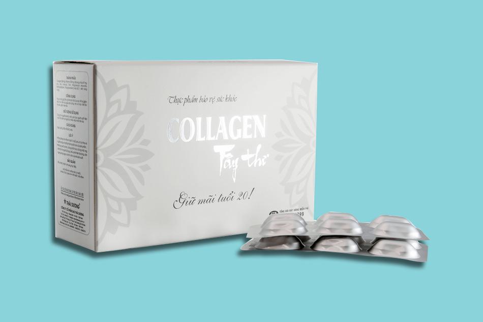 Thực phẩm bảo vệ sức khỏe Collagen Tây Thi