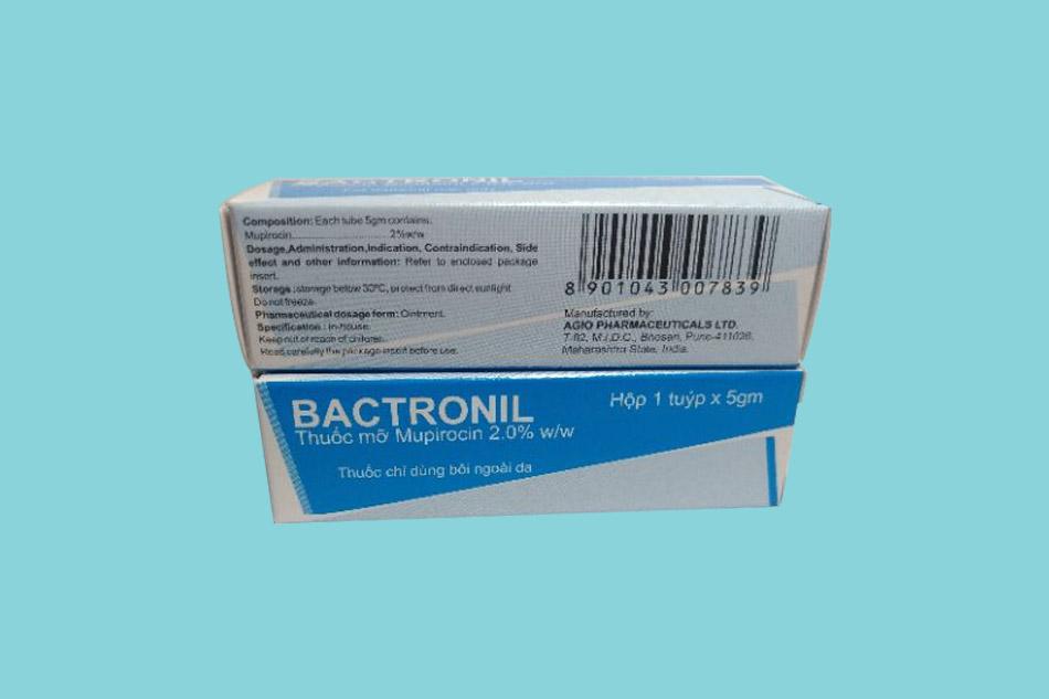 Thuốc Bactronil 5g giá bao nhiêu?