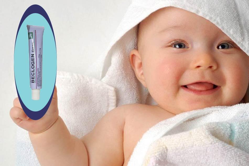 Thuốc Beclogen Cream có dùng được cho trẻ sơ sinh?
