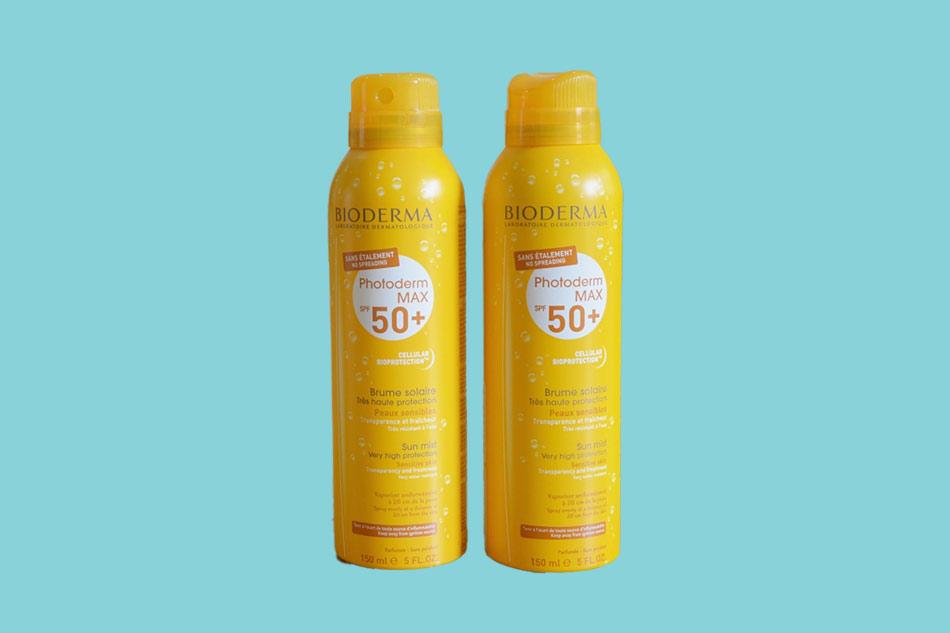 Kem chống nắng dạng xịt Bioderma MAX Spray SPF 50+ cho da nhạy cảm