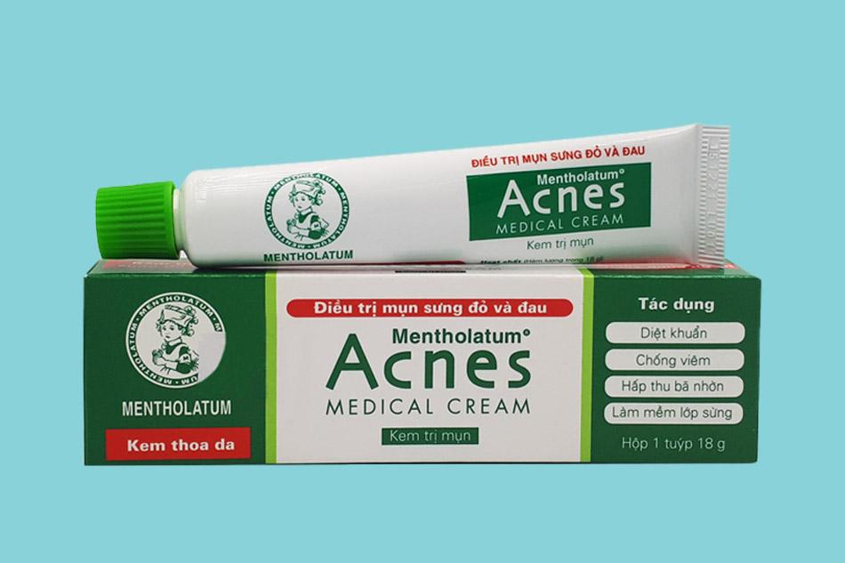 Cách sử dụng Acnes Medical Cream