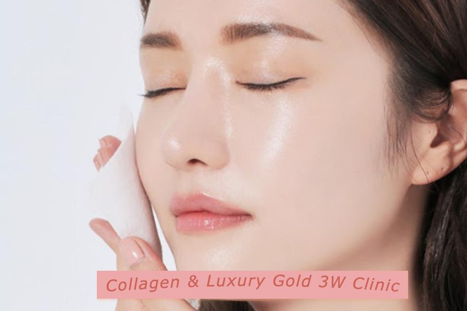[REVIEW] Tinh chất dưỡng da Collagen & Luxury Gold 3W Clinic
