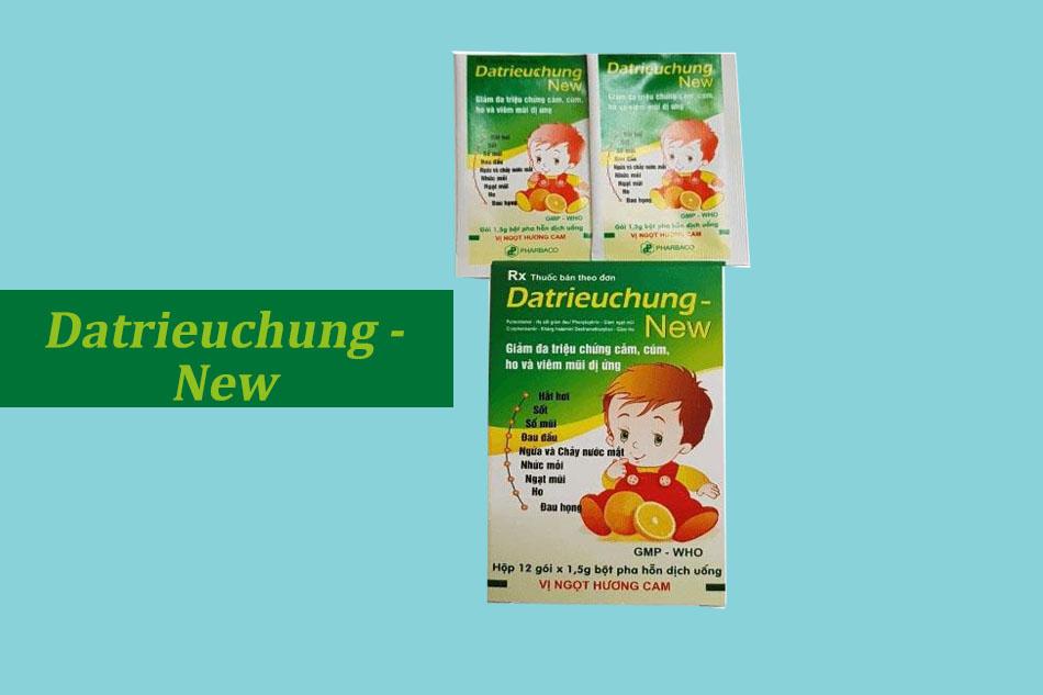 Thuốc Datrieuchung New là thuốc gì?