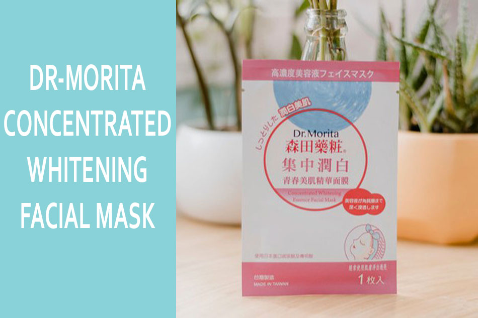 Mặt nạ Dr-Morita Concentrated Whitening Essencen Facial Mask