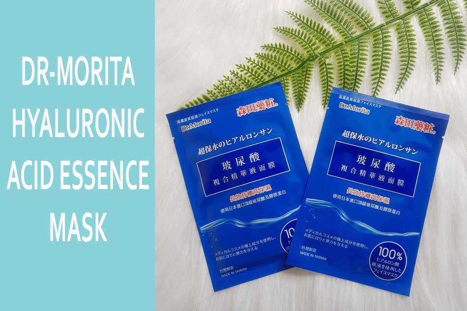 Mặt nạ Dr-Morita Hyaluronic Acid Essence Mask