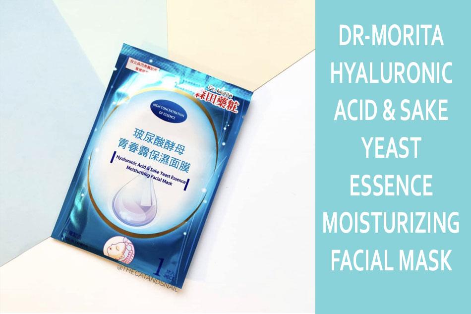 Mặt nạ Dr-Morita Hyaluronic Acid & Sake Yeast Essence Moisturizing Facial Mask