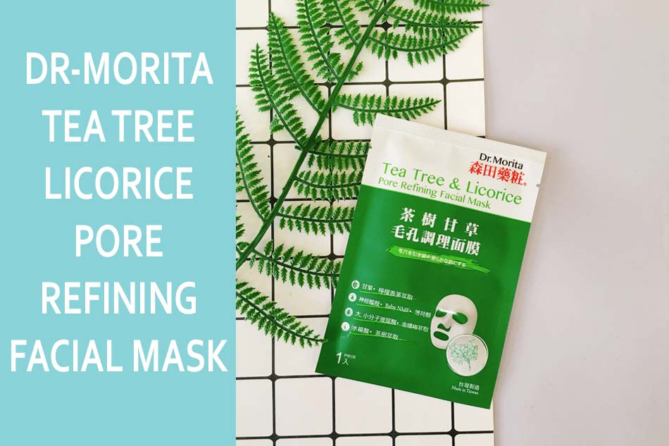 Mặt nạ Dr-Morita Tea Tree & Licorice Pore Refining Facial Mask