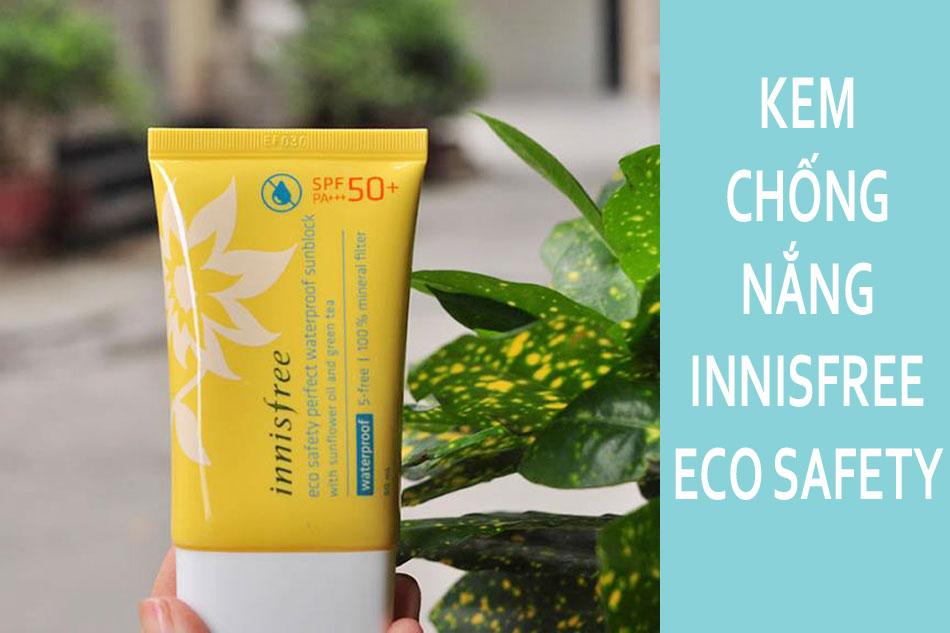Kem chống nắng đi biển Innisfree Eco Safety