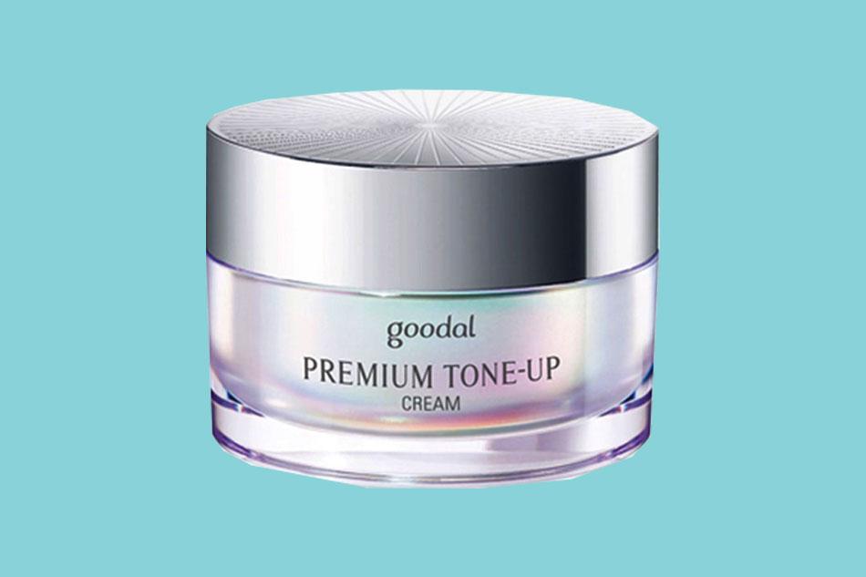 Kem dưỡng trắng da cho da dầu Goodal Premium Snail Tone Up Cream