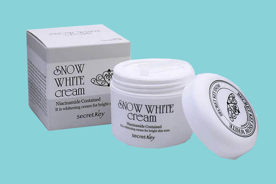 Kem dưỡng trắng da mặt cho da dầu mụn Snow White Milky Cream