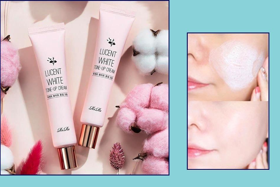 Kem dưỡng trắng da mặt cho da dầu hỗn hợp RiRe Lucent White Tone-Up Cream