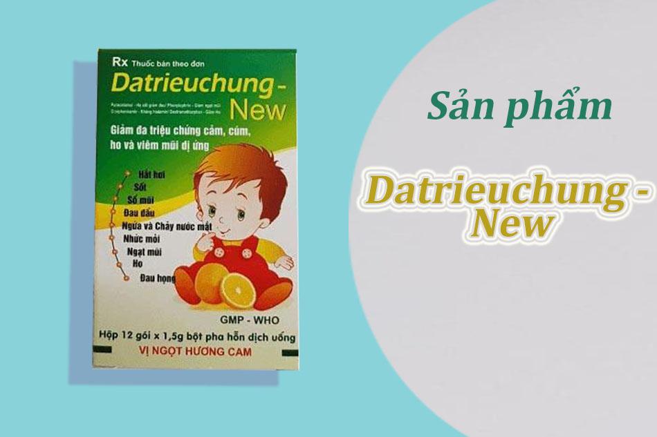 Sản phẩm Datrieuchung - New