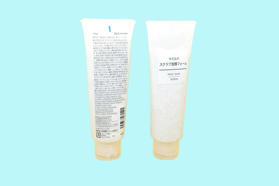 Sữa rửa mặt Muji Face Soap Scrub