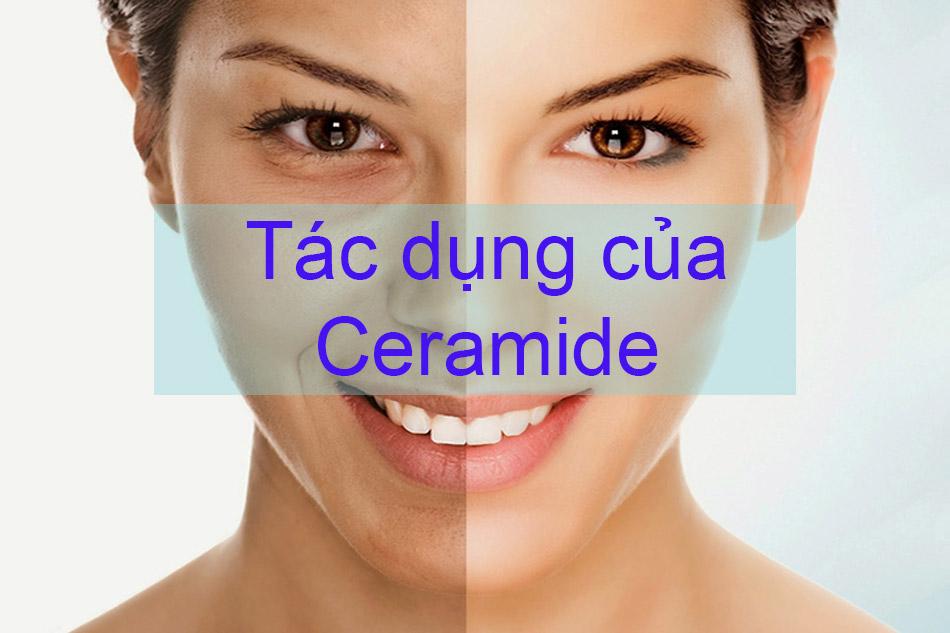 Tác dụng của Ceramide trong làm đẹp
