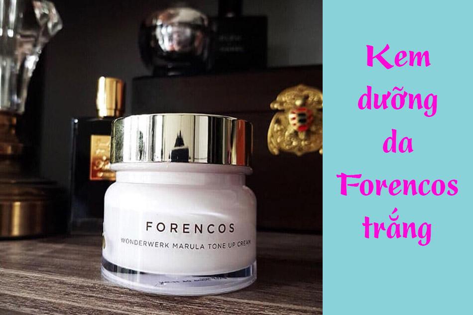 Kem dưỡng da Forencos trắng (Forencos Wonderwerk Marula Tone Up Cream 50ml)