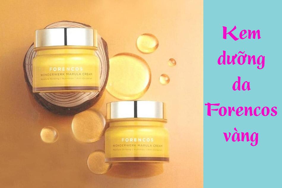 Kem dưỡng da Forencos vàng (Forencos Wonderwerk Marula Tone Up Cream)