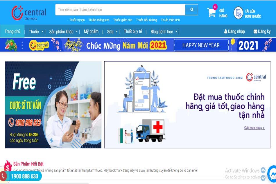 Mục đích thành lập Trung Tâm Thuốc Central Pharmacy